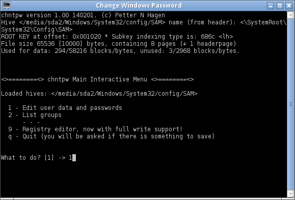 freeware windows password unlocker